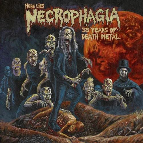 Necrophagia - Here Lies Necrophagia; 35 Years of Death Metal (2019)