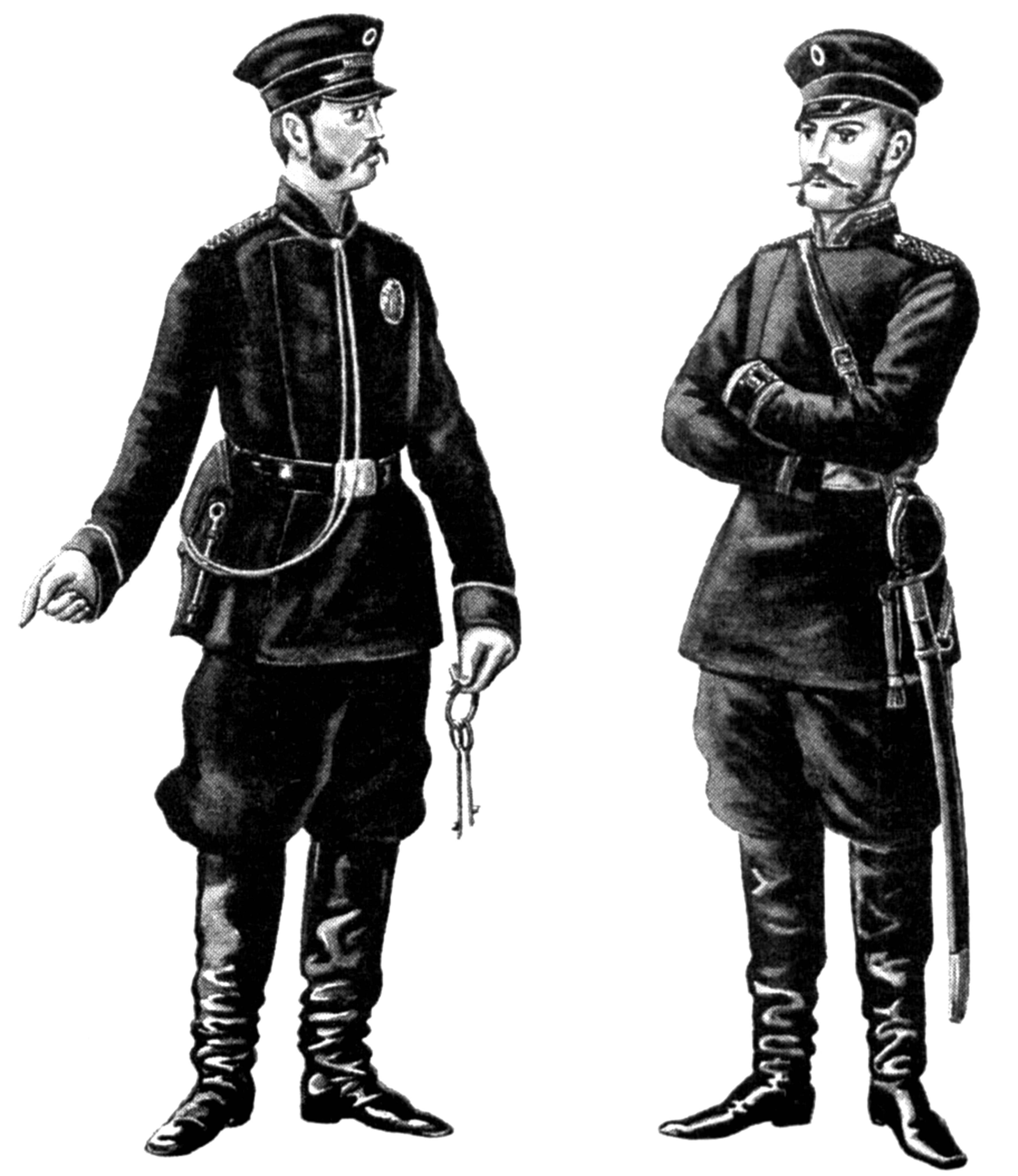 чиновники царской охранки форма одежды картинки стремилась посвящать как