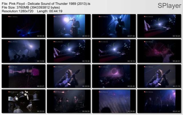 Pink Floyd - Delicate Sound of Thunder 1989 (2013) HDTV