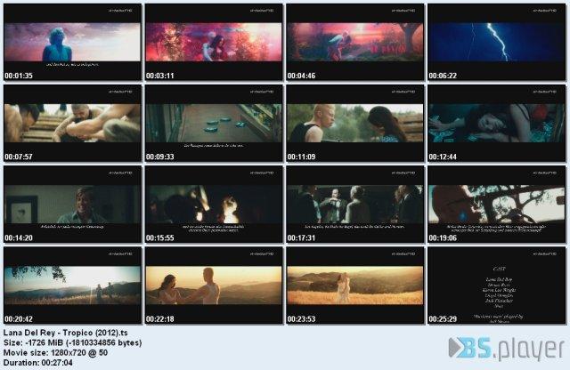 Lana Del Rey - Tropico (2012) HDTV