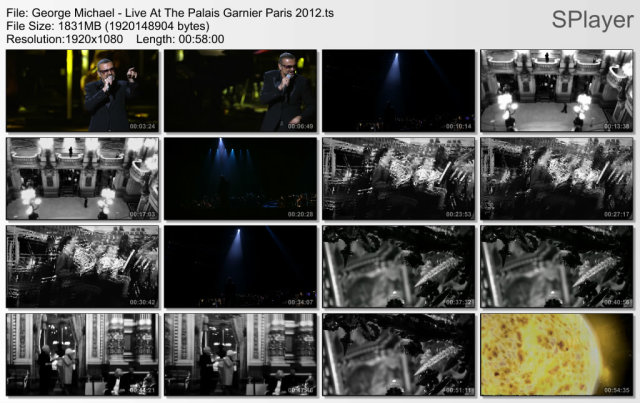 George Michael - Live At The Palais Garnier Paris (2012) HDTV
