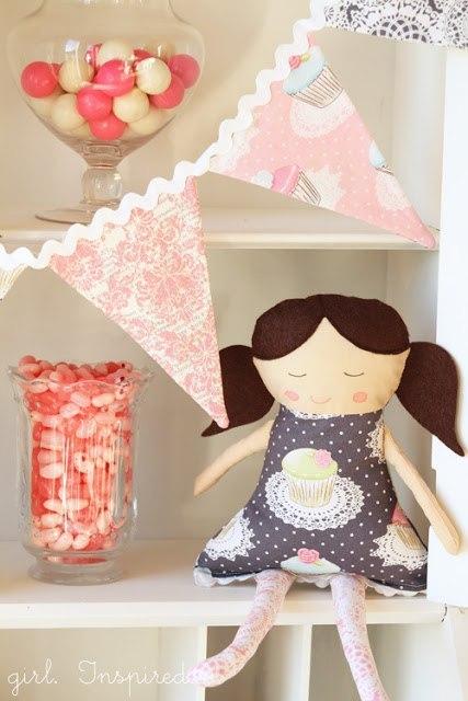 Шьем текстильных кукол мастер класс пошаговый #10