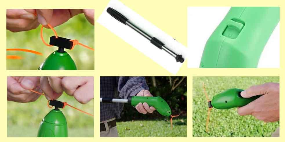 garden trimmer компактный