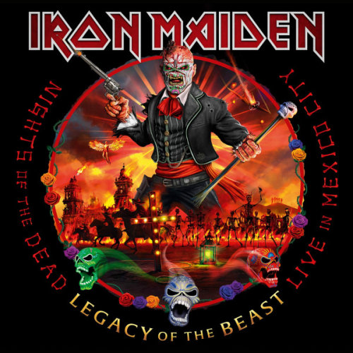 Iron Maiden - Nights of the Dead, Legacy of the Beast Live In Mexico City [2CD] (2020)