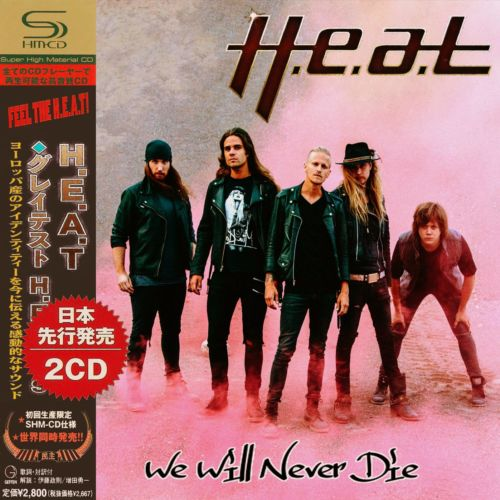 H.E.A.T - We Will Never Die (2020) Compilation, 2CD