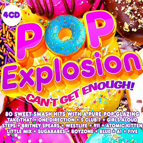 Pop Explosion - Can't Get Enough! (2020)