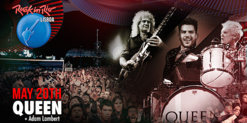 Queen + Adam Lambert - Rock In Rio Lisbon (2016)
