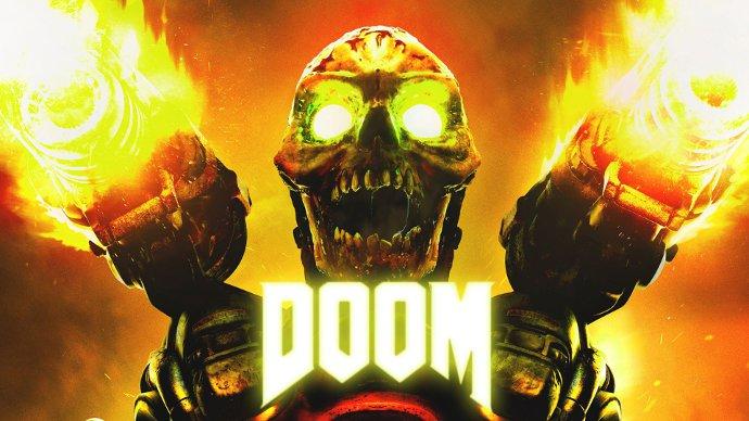 постер игры doom (2016)