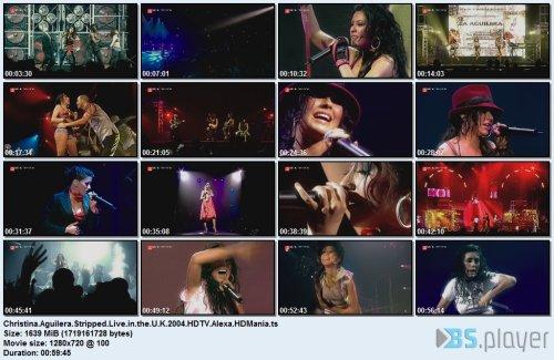 Christina Aguilera - Stripped Live in U.K.'04 (2020) HDTV