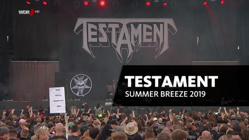 Testament - Summer Breeze Festival (2019) HDTV