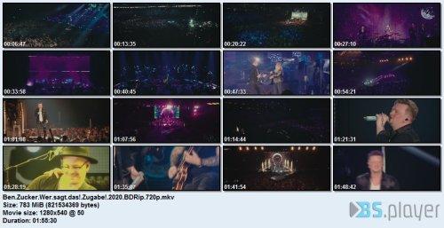 Ben Zucker - Wer sagt das?! Zugabe! (2020) Blu-Ray