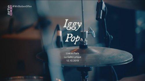 Iggy Pop - Live In Paris (2019) HDTV