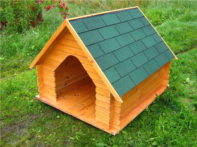 Будка для собаки самодельная. Чертежи Bung-kl-vel