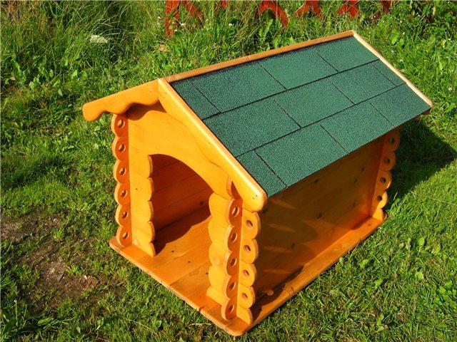 Будка для собаки самодельная. Чертежи Sk-kl-vel