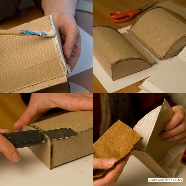 Сумки из картона своими руками фото