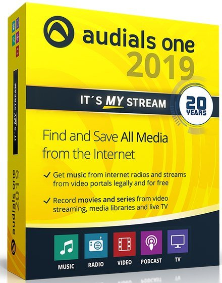 Audials One Platinum 2019.0.7800.0