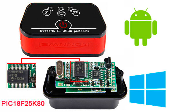 сканер obd2 elm327 bluetooth 1.5