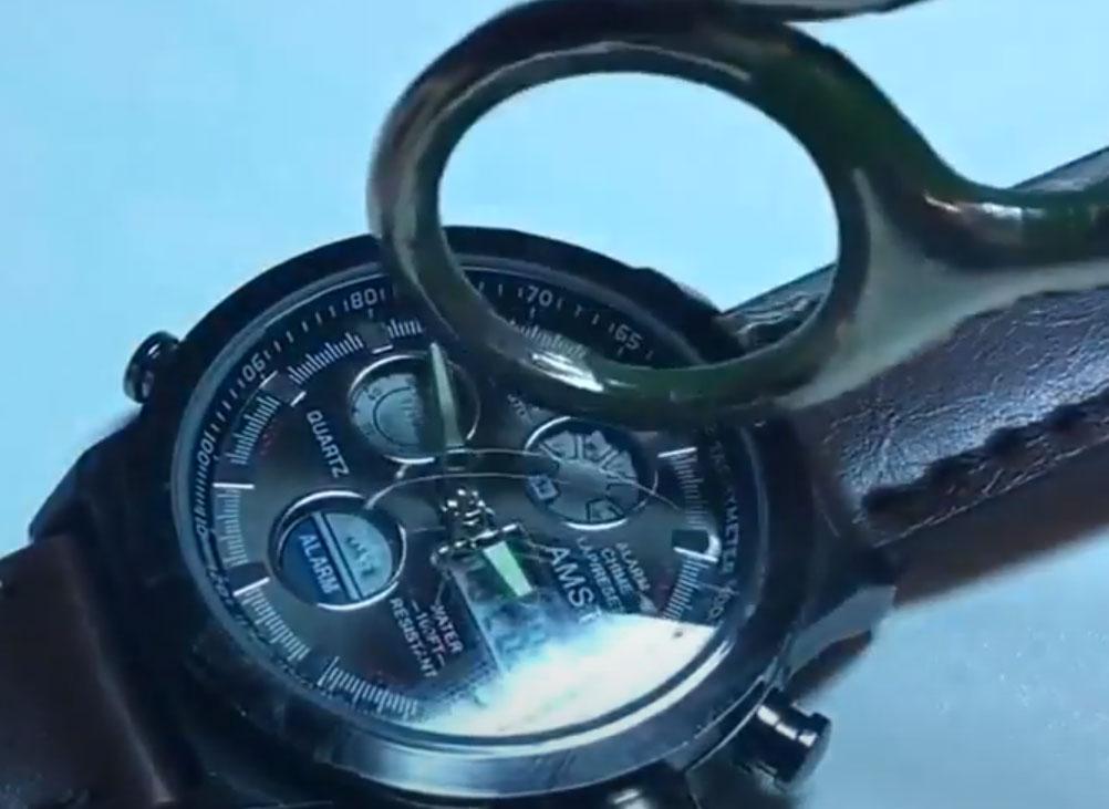 армейские  противоударные часы amst