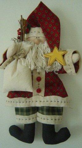 Дед мороз своими руками тильда