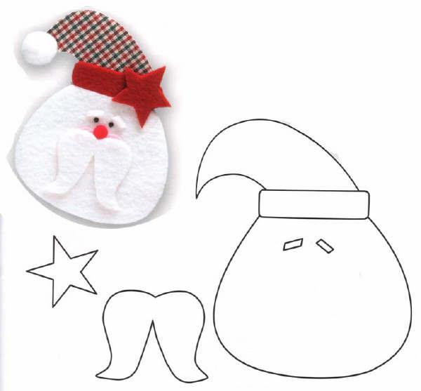 Как сделать Деда Мороза из бумаги Оригами украшение на елку Новогодние поделки своими руками