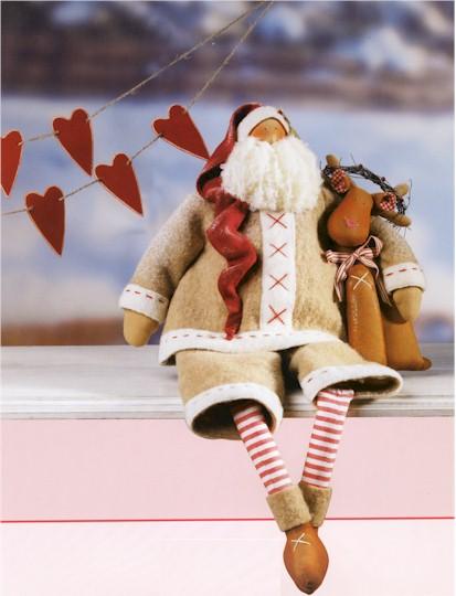 Санта своими руками выкройка