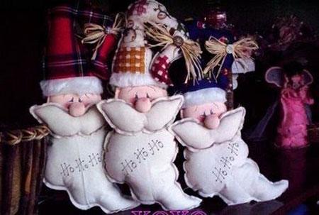 Дед мороз и олени своими руками