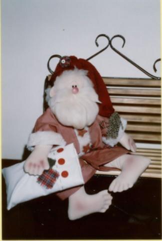 Игрушка дед мороз своими руками выкройка