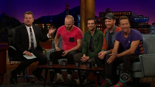 Coldplay - At Late Show James Corden