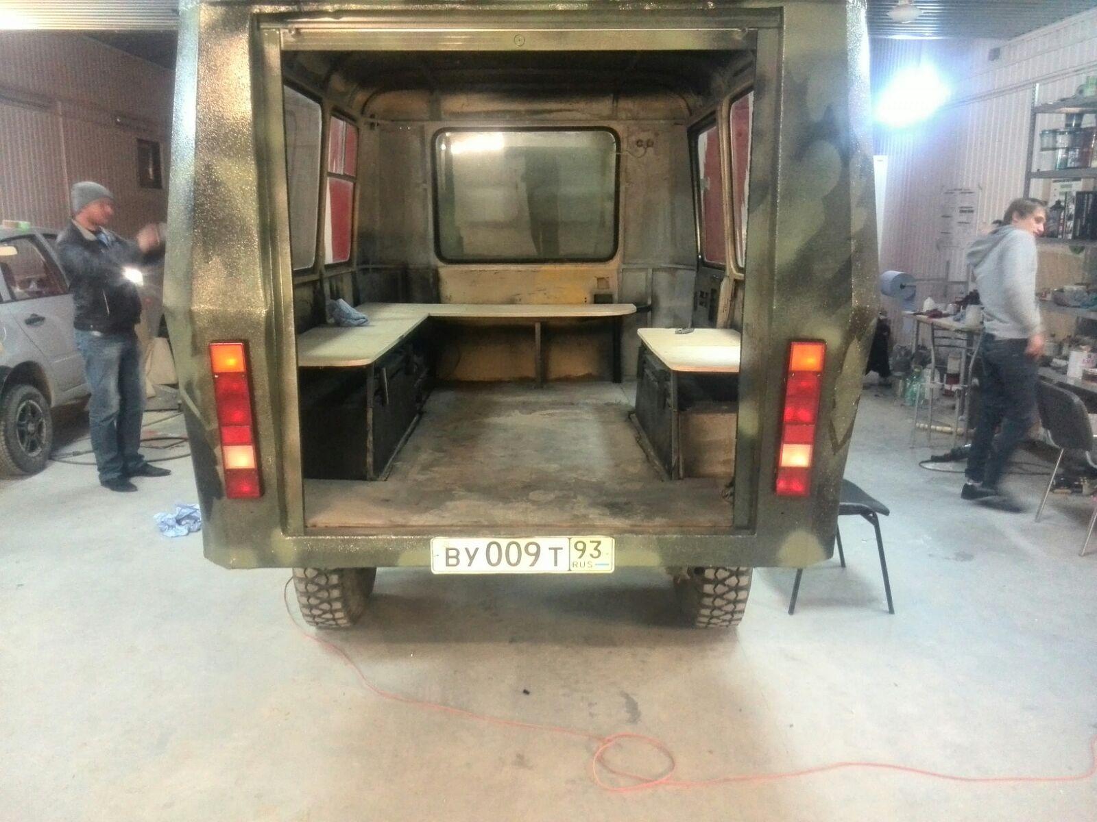 Изготовление металлического кузова для УАЗ 3303 кузов УАЗ 47