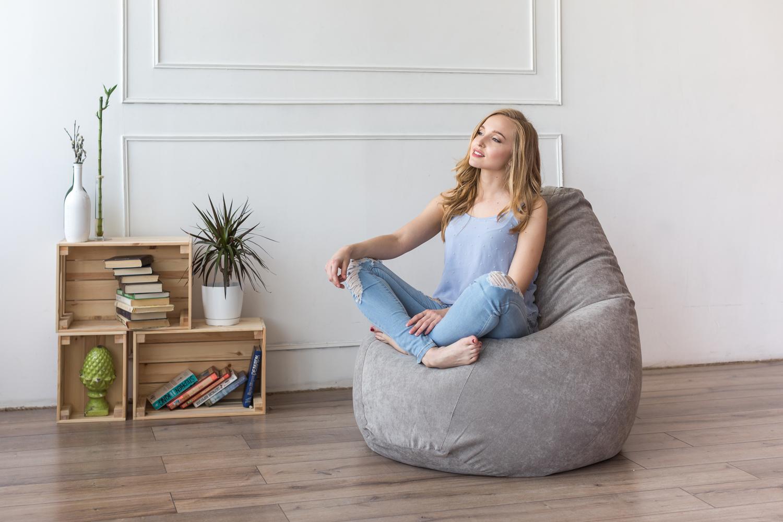 Какой материал выбрать для пошива кресла-мешка