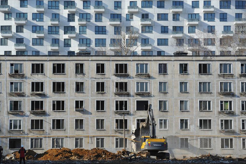 Новости и карта реновации в Москве