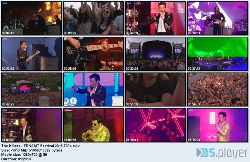 The Killers - TRNSMT Festival (2018) HD 720p