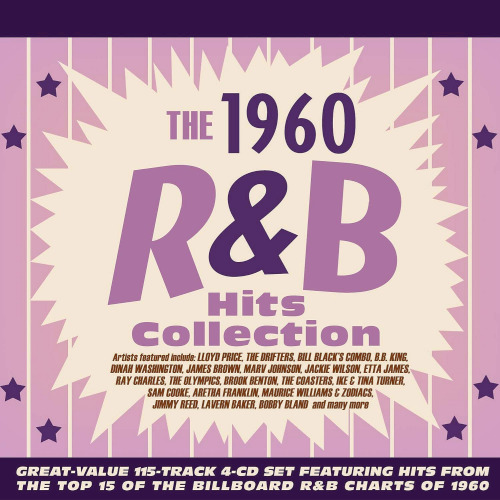 1960 R&B Hits Collection 4CD (2020)