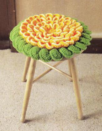 Схема вязания подушки для