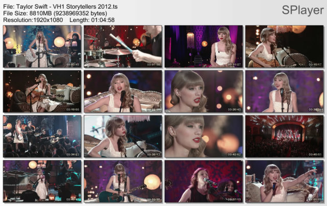 Taylor Swift - VH1 Storytellers (2012) HDTV