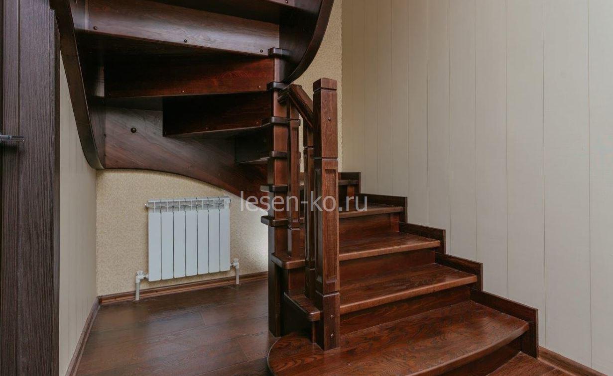 забежные лестницы с поворотом на 180