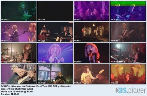 Scandal - Kiss from darkness World Tour (2020) BDRip 1080p