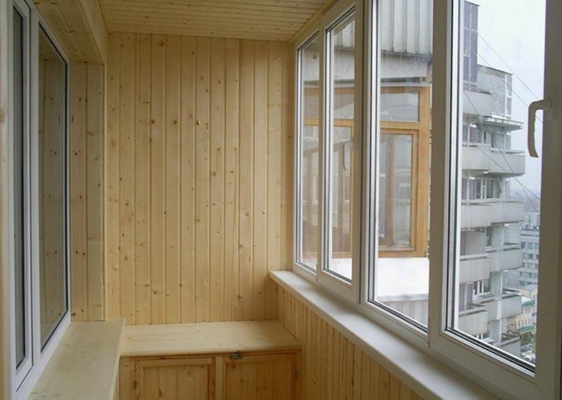 отделка балконов под ключ москва