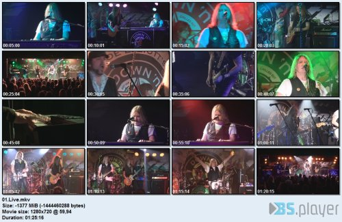 Joe Elliott's Down 'N' Outz - The Further Live..(2017) Blu-Ray