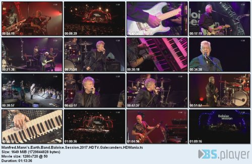 Manfred Mann's Earth Band - Baloise Session (2017) HDTV