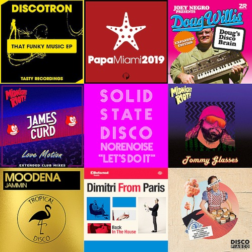 Traxsource Top 100 Nu Disco-Indie Dance 23rd May (2019)