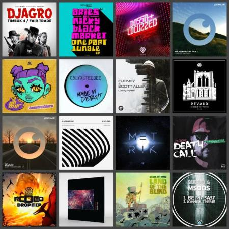 Drum & Bass Music Collection Pack 012 (2019)