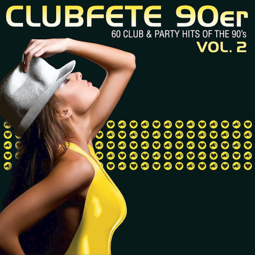 Clubfete 90er Vol. 2 (60 Club & Party Hits Of The 90s) (2020)