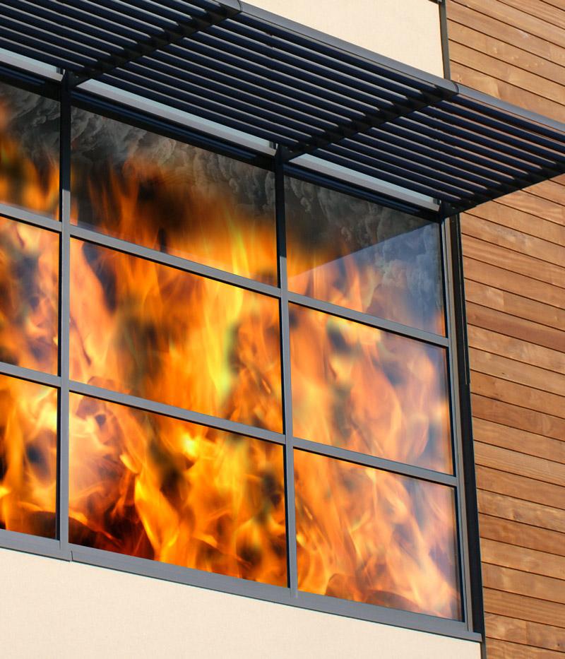 Особенности противопожарных окон