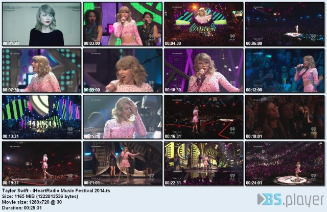 Taylor Swift - iHeartRadio Music Festival (2014) HD 720p
