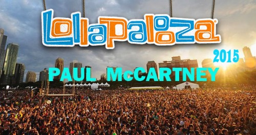 Paul McCartney - Lollapalooza Festival