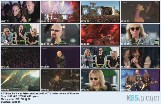 A Tribute To Judas Priest - Wacken (2015) HDTV