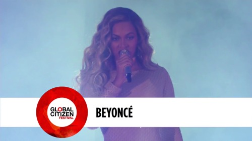 Beyonce - Global Citizen Festival