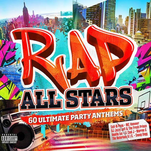 RAP ALL STARS 3CD (2018)
