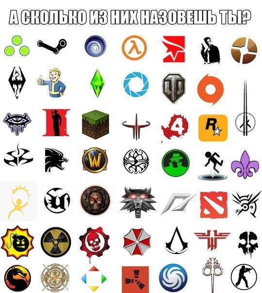 символика из игр